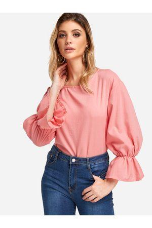 YOINS Girls Blouses - Flared Long Sleeves Fashion Girls Blouse