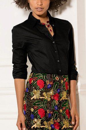 YOINS Women Blouses - Lapel Collar Long Sleeves Shirt