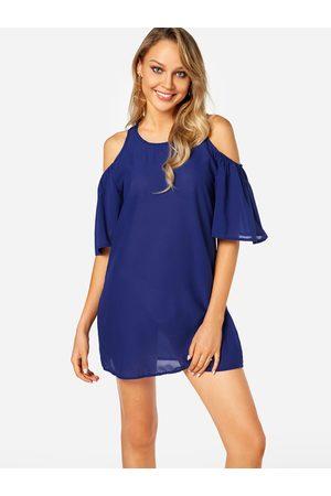 YOINS Women Short Sleeve - Cold Shoulder Short Sleeves Dresses