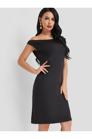 YOINS One Shoulder Midi Dress