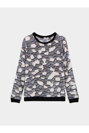 YOINS Women Sweatshirts - Black Long Sleeve Sweatshirt
