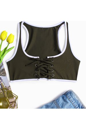 YOINS Women Camisoles - Sexy Lace Up Camis