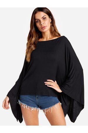 YOINS Women Blouses - Bat Sleeves Fashion Blouse