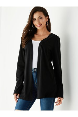YOINS Lace Long Sleeves Open Front Cardigan