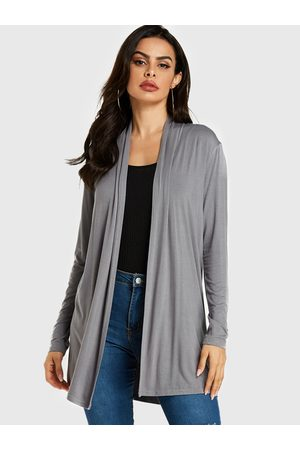 YOINS Long Sleeves Open Front Cardigan