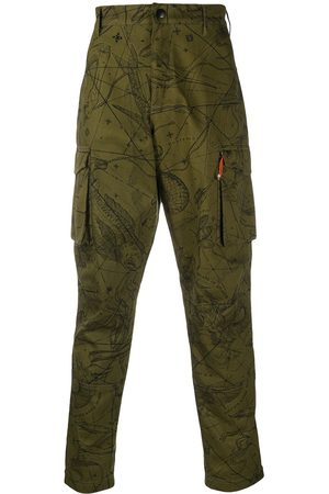 Givenchy Astral printed cargo trousers