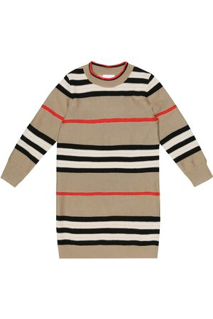 Burberry Icon Stripe wool-blend dress