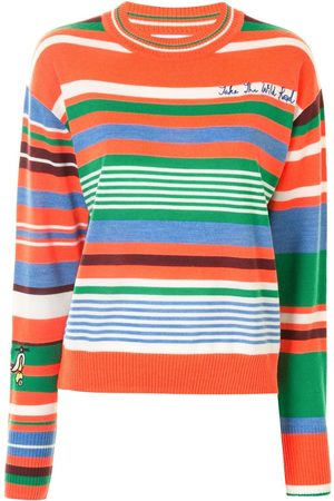 MIRA MIKATI Striped crew-neck jumper
