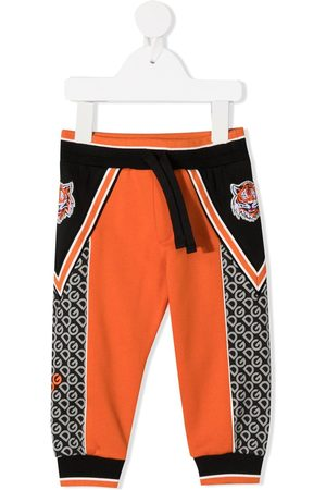 Dolce & Gabbana Tiger embroidered track pants