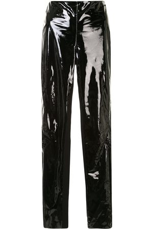 Karl Lagerfeld Patent finish trousers