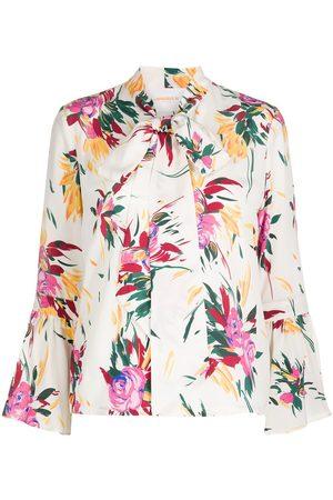 La DoubleJ Happy Wrist floral print blouse