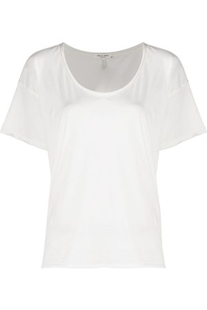 RAG&BONE Short-sleeved organic cotton T-shirt