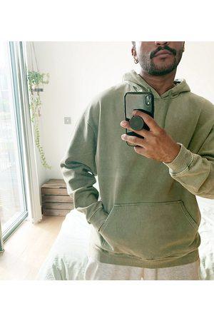 Reclaimed Vintage Inspired oversized hoodie in overdye