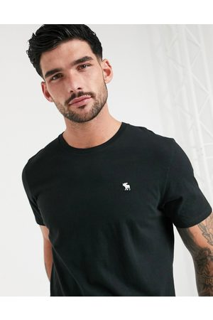 Abercrombie & Fitch Icon logo crew neck t-shirt in