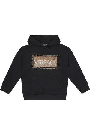 VERSACE Girls Sweatshirts - 90s Vintage cotton hoodie