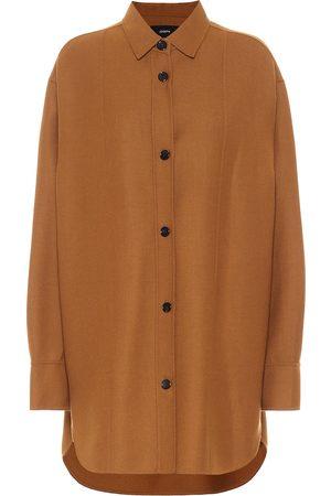 Joseph Judi stretch-wool twill shirt