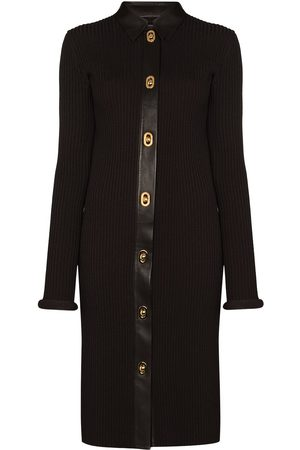 Bottega Veneta Ribbed knit midi dress