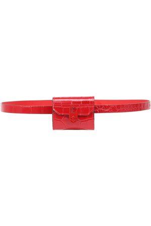 Christian Louboutin Elisa croc-effect leather belt bag