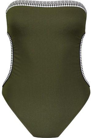 Lemlem Geometric trim swim suit