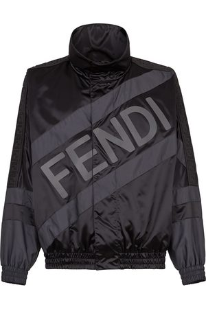 Fendi Appliqué shell jacket