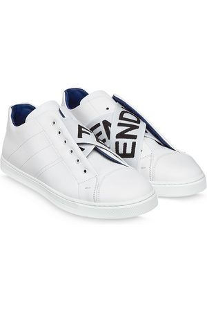Fendi Logo-strap low-top sneakers