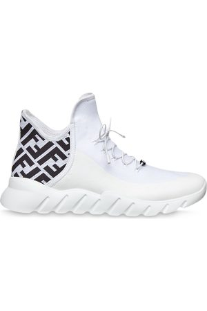 Fendi FF pattern sneakers