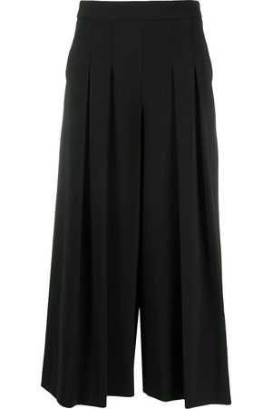 Moschino Pleated wide-leg trousers