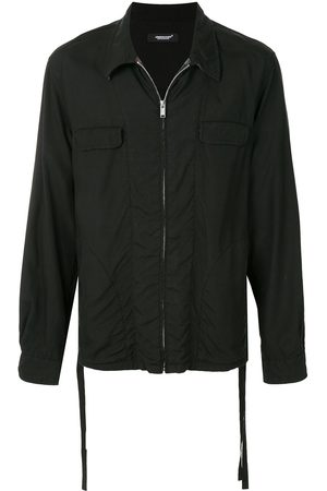 UNDERCOVER Long-sleeved zipped up shirt