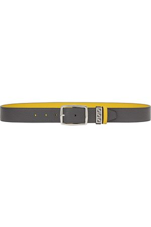Fendi Reversible cut-out FF motif belt