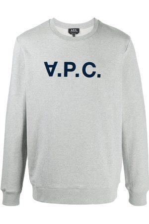 A.P.C Logo print sweatshirt