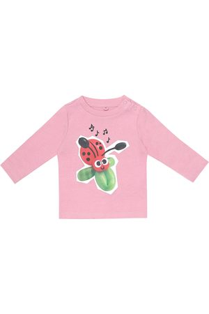Stella McCartney Baby printed cotton T-shirt