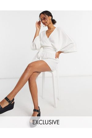 South Beach Exclusive beach wrap top and skirt in