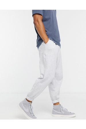 ASOS Oversized cropped joggers in marl