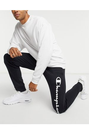 Champion Men Joggers - Large logo joggers in