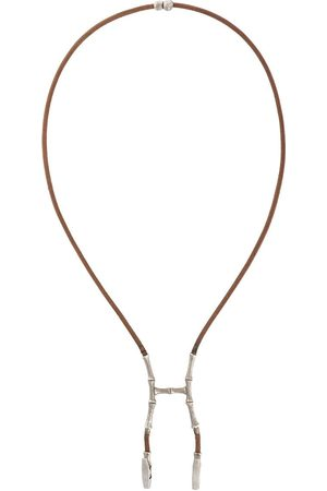 Hermès Women Bustiers - 2000s pre-owned bamboo bustier necklace