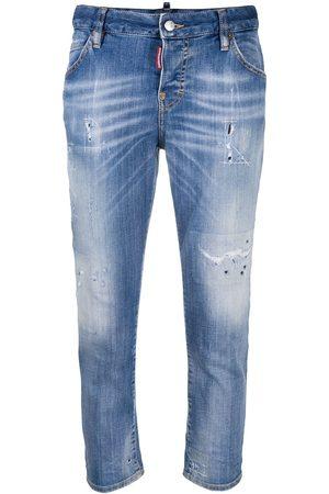 Dsquared2 Cropped boyfriend jeans