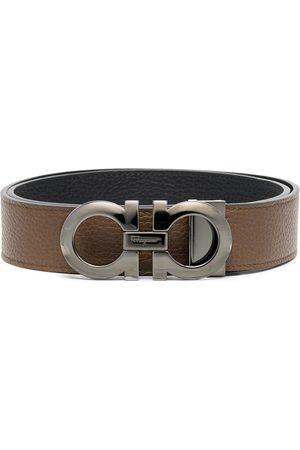 Salvatore Ferragamo Muflone reversible belt