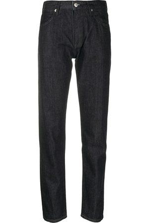 Jil Sander Women Skinny - Logo-appliqué slim-fit jeans