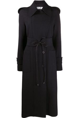 Victoria Beckham Tie-waist single breasted trench coat