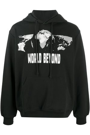 McQ Earth graphic print hoodie