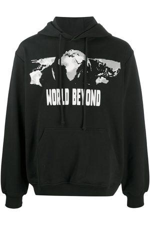 McQ Earth graphic print hoodie