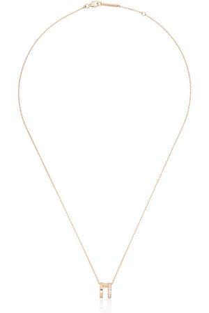 Repossi 18K rose gold Berbere diamond necklace