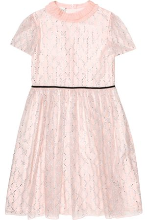 Gucci GG embellished silk tulle dress