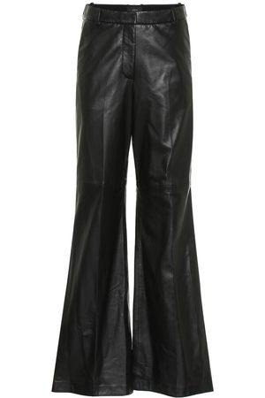 Joseph Tambo high-rise leather pants