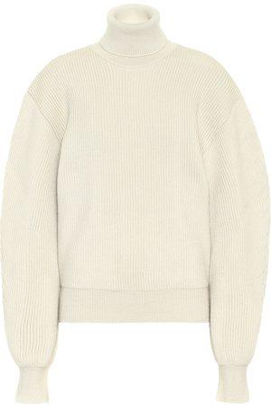 Jil Sander Ribbed wool turtleneck sweater