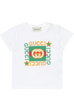 Gucci Baby logo cotton T-shirt