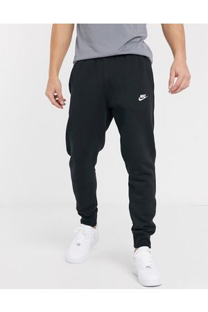 Nike Club cuffed joggers in black