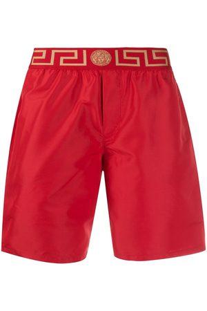 VERSACE Men Swim Shorts - Greca Border swim shorts