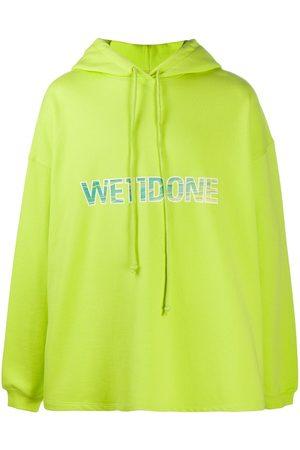 We11 Done Logo print hoodie