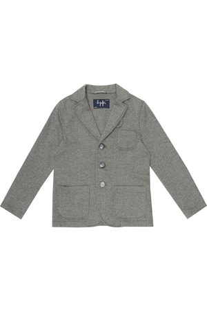 Il gufo Cotton herringbone jacket